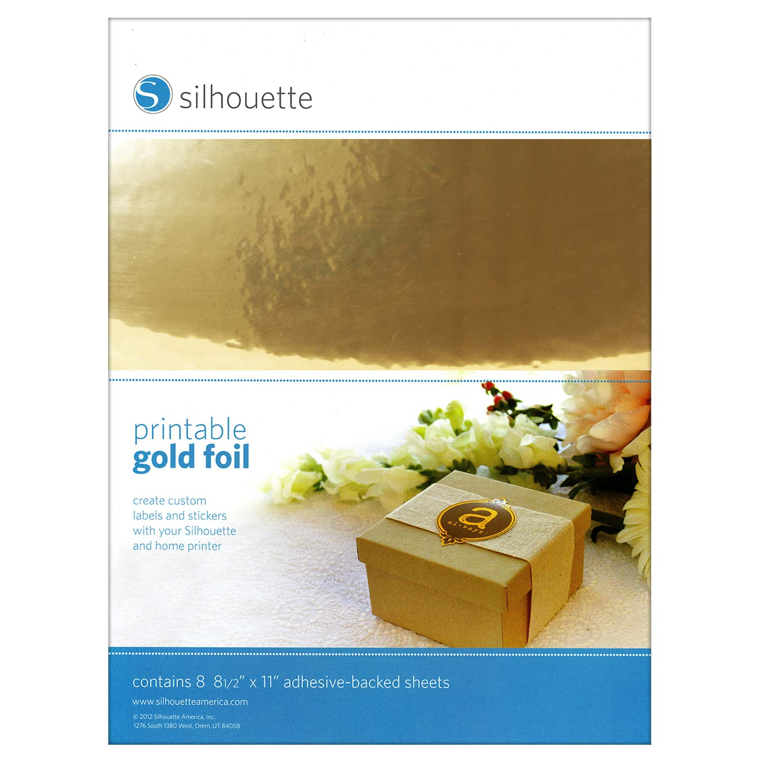 Silhouette Printable Gold Foil Gm Crafts